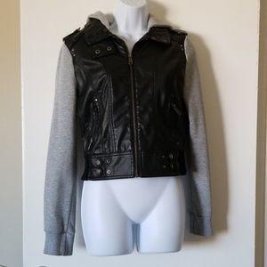 FULL TILT faux leather jacket